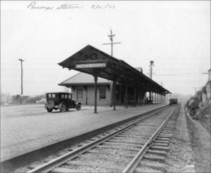 1933 PHOTOGRAPH OF THE STATION IN SHEPHERDSTOWN